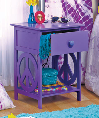 Peace Sign Night Stands