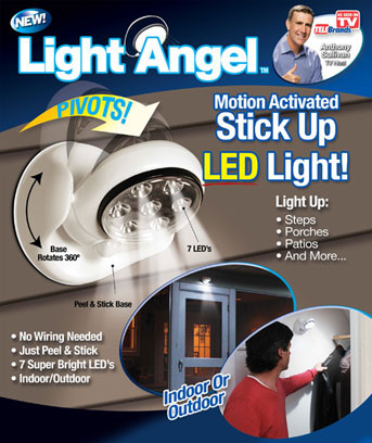 Light Angel™ Motion-Activated LED Light