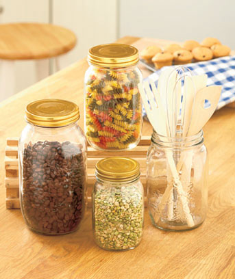 Mason Jar Kitchen Countertop Collection