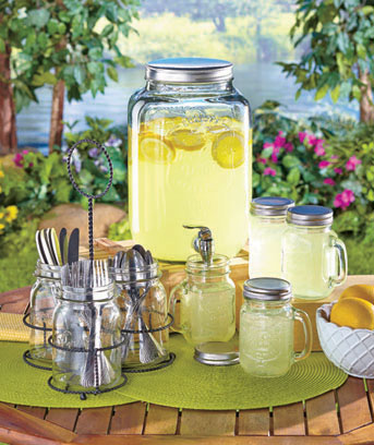 Mason Jar Entertaining Collection
