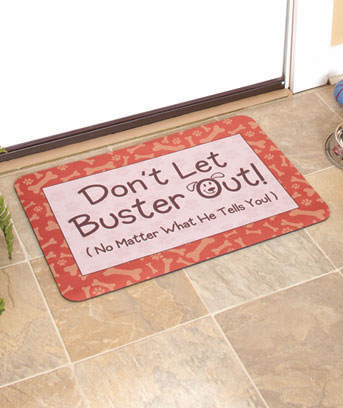 Personalized Dog or Cat Mats