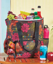 Oversized Insulated Cooler Backpacks - Flower