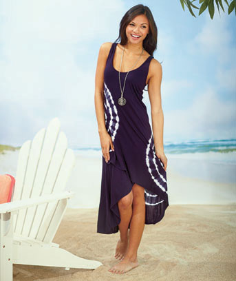 Women's Crossover Cover-Up Dresses