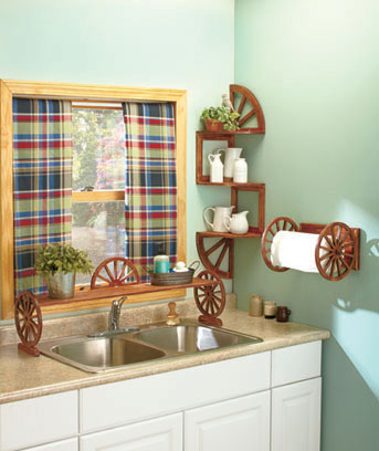 Wagon Wheel Kitchen Collection