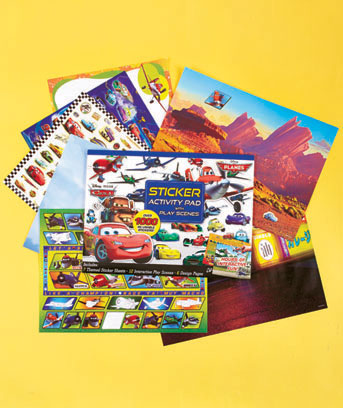 Cars & Planes Ultimate Sticker Pads