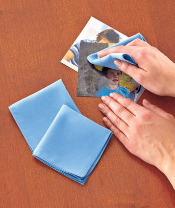 Set of 3 Photo-Cleaning Cloths