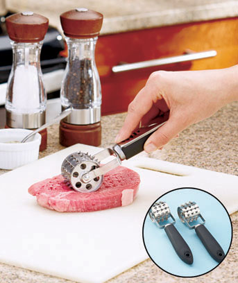 Set of 2 Rolling Meat Tenderizers