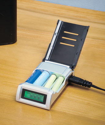 Battery Charger with Digital Display
