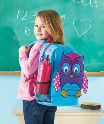 Kids' Animal Puff Print Backpacks