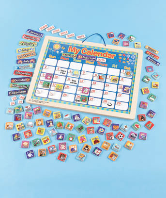 Magnetic Responsibility Chart or Calendar