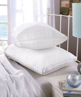 Jumbo Memory Foam and Fiberfill Pillow