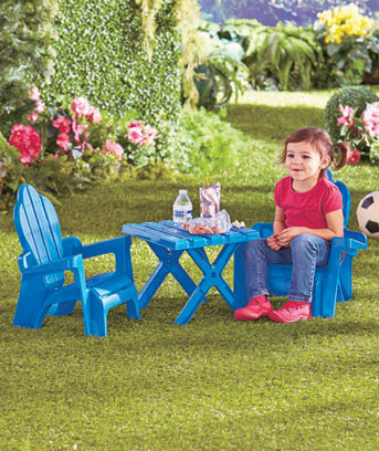 Kids' Adirondack Chair and Table Set