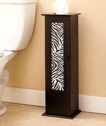 Animal Print Toilet Roll Storage