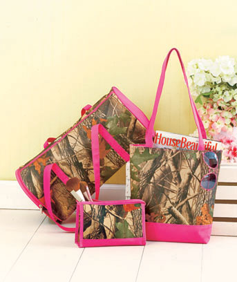 3-Pc. Camouflage Travel Collection