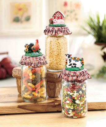 Country Mason Jars