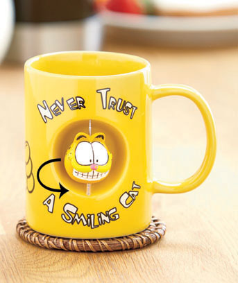 Garfield Licensed Spinner Mug