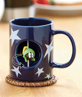 Marvin the Martian Licensed Spinner Mug
