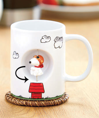 Snoopy Licensed Spinner Mug