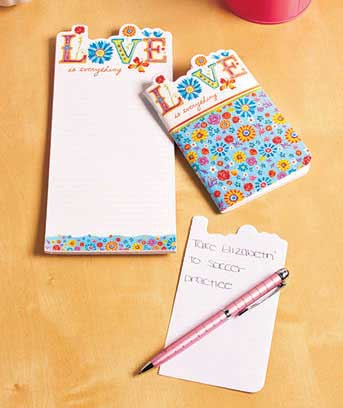 Magnetic Memo Pad and Pocket Notebook Sets