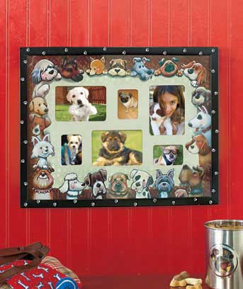 Furry Friends Collage Frame
