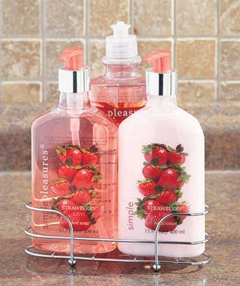 3-Pc. Kitchen Soap & Lotion Caddy