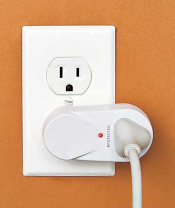 Rotating Single Outlet Surge Protector