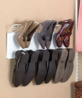 "30"" Hanging Shoe Racks"