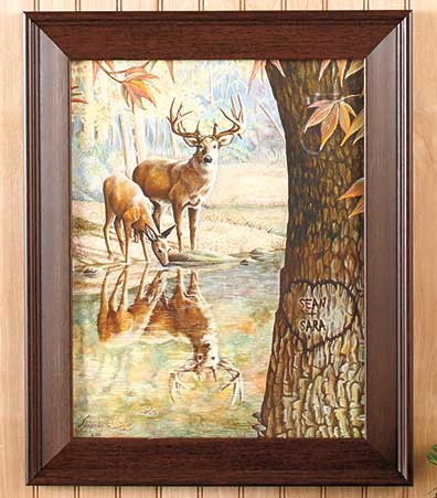 Framed Personalized Wildlife Prints