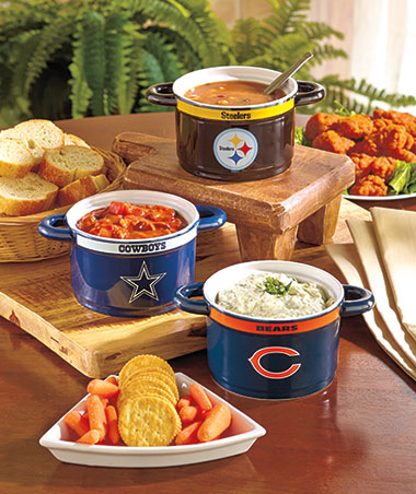 NFL Gameday Sculpted Bowls