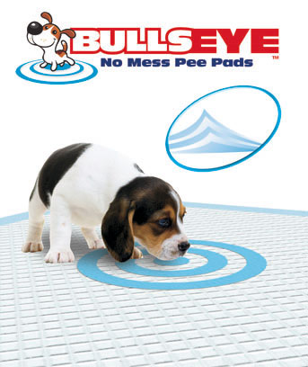 Bullseye(TM) No Mess Pee Pad