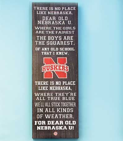 Collegiate Fight Song Wall Art