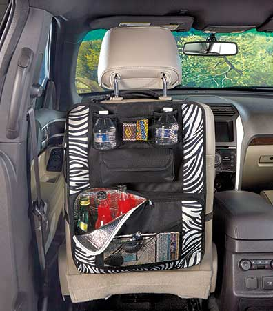 Seat Organizer with Insulated Cooler