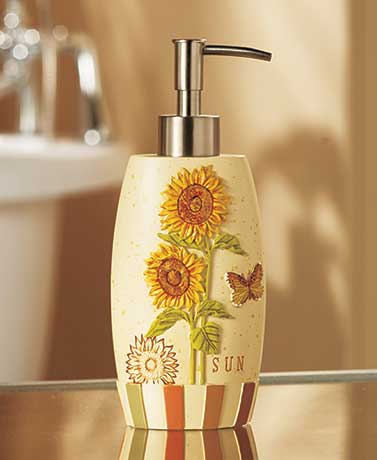 Sunflower Bathroom Collection