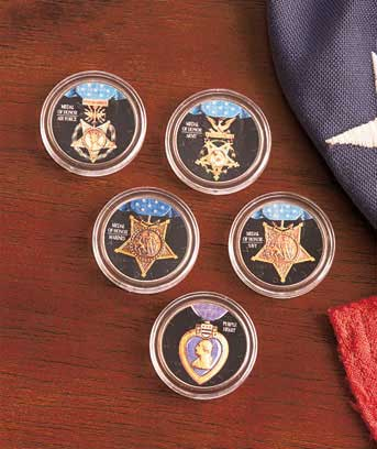 Military Medal of Honor Coins