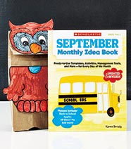 Classroom Project Idea Books - September