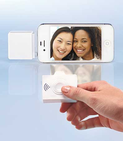 Selfie Shutter with Wireless Remote