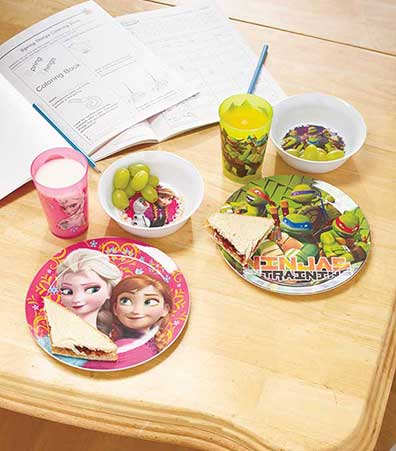 3-Pc. Licensed Kids' Meal Sets