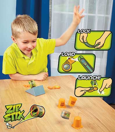 Zip Stix(TM) Stunt Pack Playset