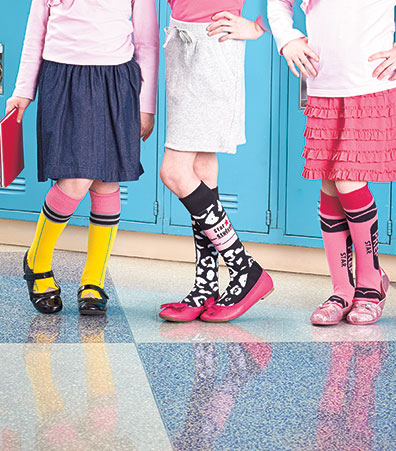 3-Pair Novelty Knee-Highs