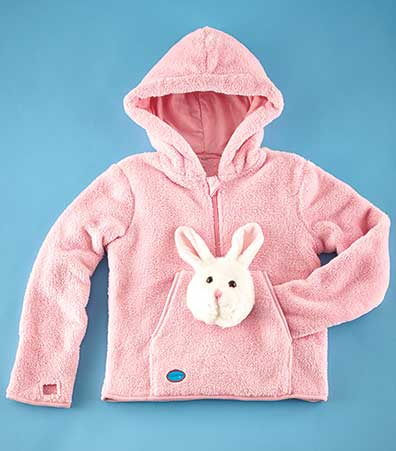 HoodiePet(TM) Fleece with Plush Toy