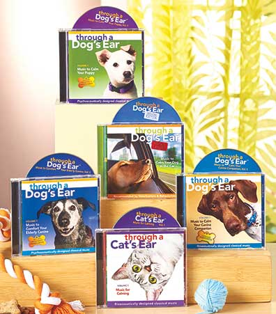 Music Therapy For Pets CDs