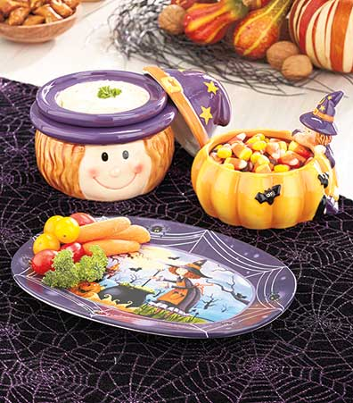 Halloween Witch Tabletop Collection