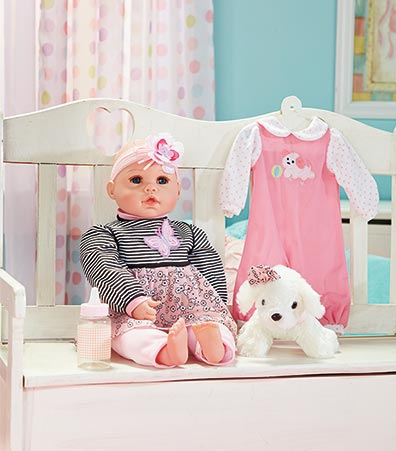 Baby Allie Playset with Dog