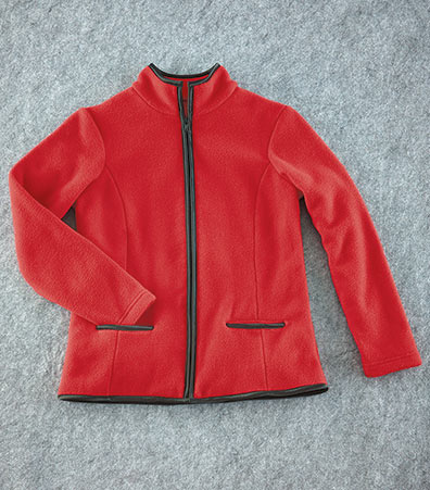 Women's Zip-Front Fleece Jackets