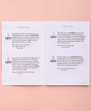 Monthly Perpetual Prayer Book Set