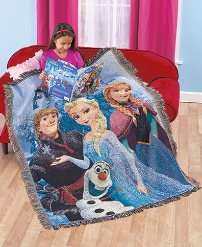 Disney's Frozen Tapestry Throw