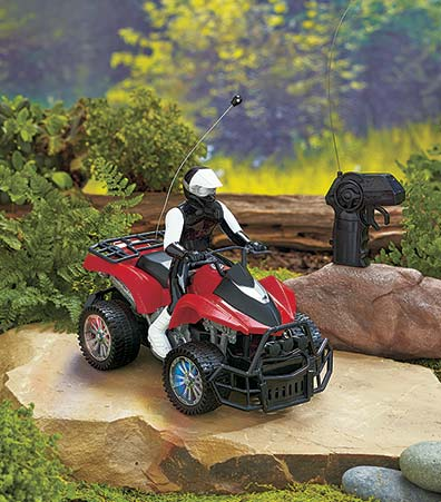 Remote Control ATV with Lighted Wheels