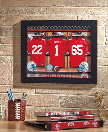 Personalized College Locker Room Prints