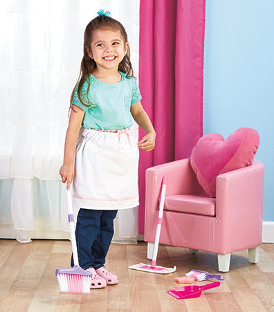 Just-Like-Mommy Child's Cleaning Set