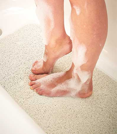 Loofah Bathtub Mat